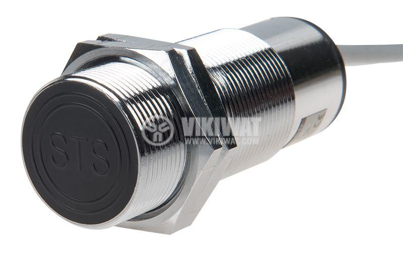 Капацитивен датчик CD30N3E1L, 10-30VDC, NPN, NO+NC, M30x75mm, 10mm, екраниран - 1