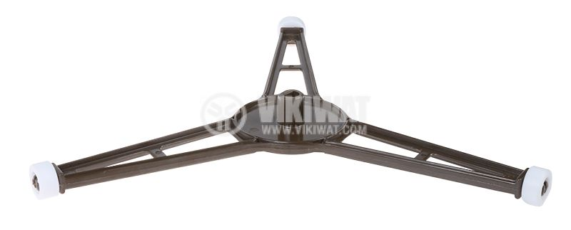 Ролер за микровълнова печка / фурна SHP0225 три колела, диаметър 225 mm - 1