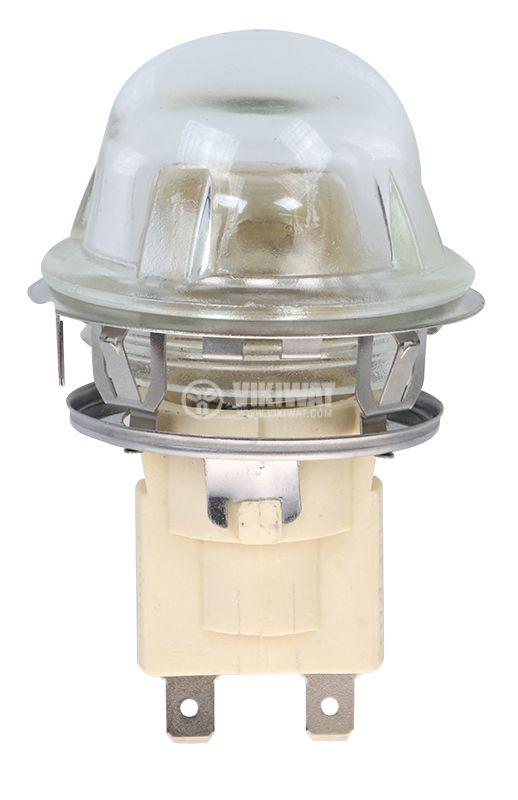 Плафон за фурна 3607, 220VAC, 25W, E14 - 1