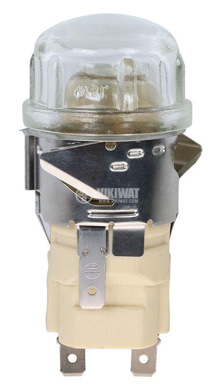 Плафон за фурна 3603, 220VAC, 25W, E14 - 1