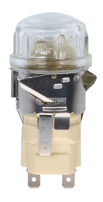 Плафон за фурна 3602, 220VAC, 25W, E14 - 1