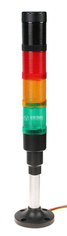 Сигнална колона HBJD-40/DW/3/RYG/230AC/B - 1