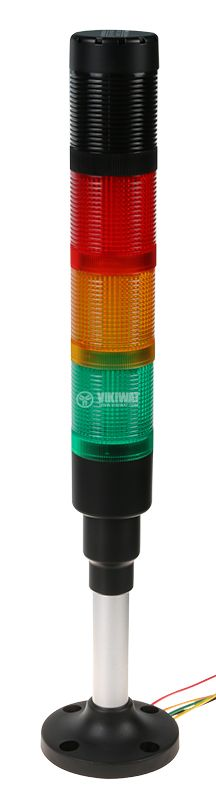 Signal tower 24V red/yellow/green colour buzzer - 1