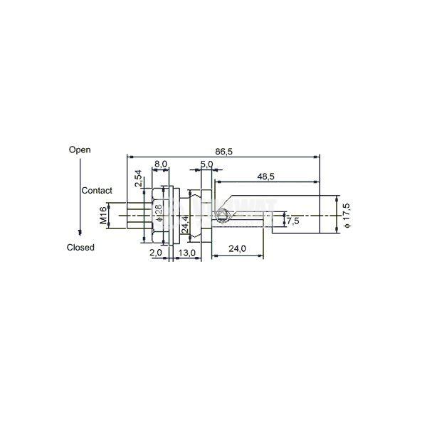 Fluid Level Sensor KSL-88-PP - 2