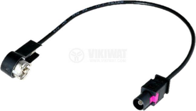 Car antenna adapter 0.23m ISO-Fakra