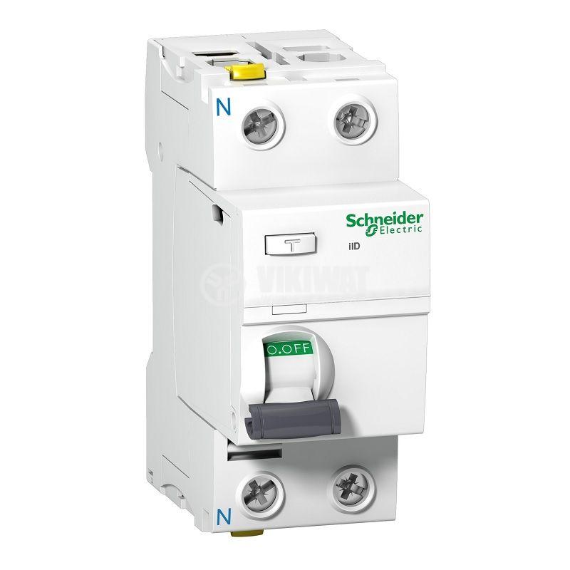 Дефектнотокова защита Schneider A9Z11225, 400VAC, 25A, 30mA
