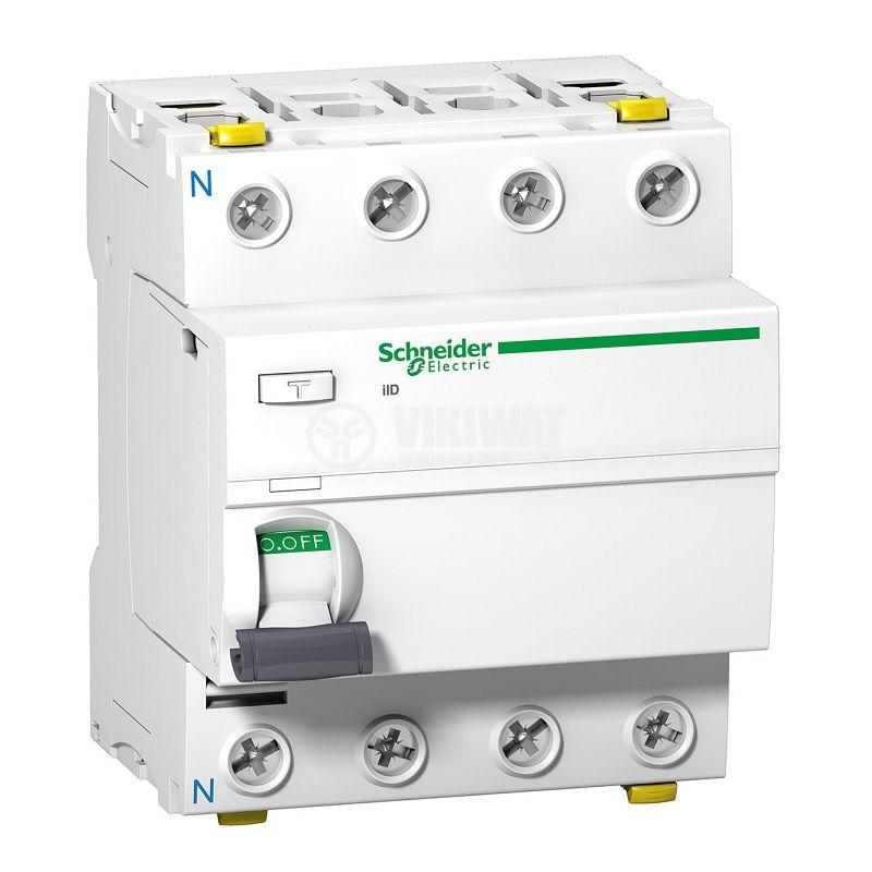 Дефектнотокова защита Schneider A9Z11425, 400VAC, 25A, 30mA