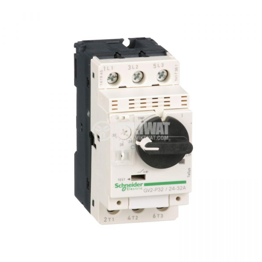 Моторeн термично-токов прекъсвач GV2P32 трифазeн 24~32A 230~690V