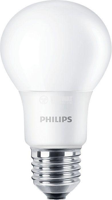 LED лампа CorePro LED bulb 7.5W E27 220V 806lm 3000K топлo бяла - 1