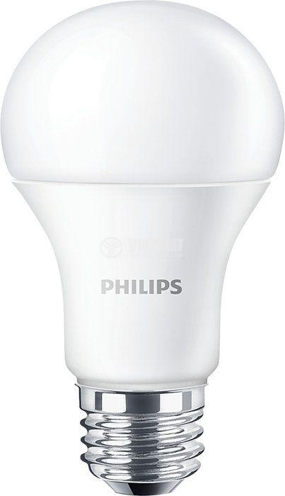 LED лампа 10.5W E27 1055lm 3000K топло бяла - 1
