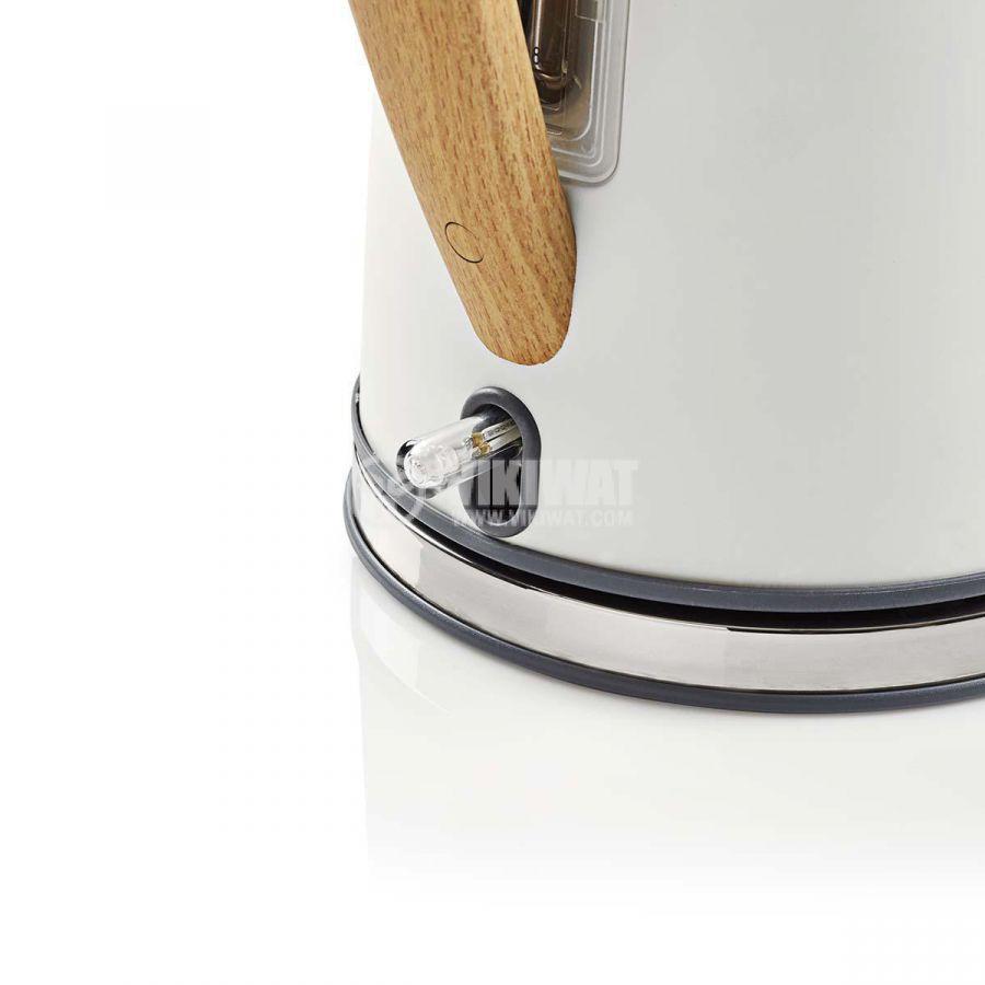 Електрическа кана KAWK510EWT 1.7l 1850-2200W 230V бяла - 5