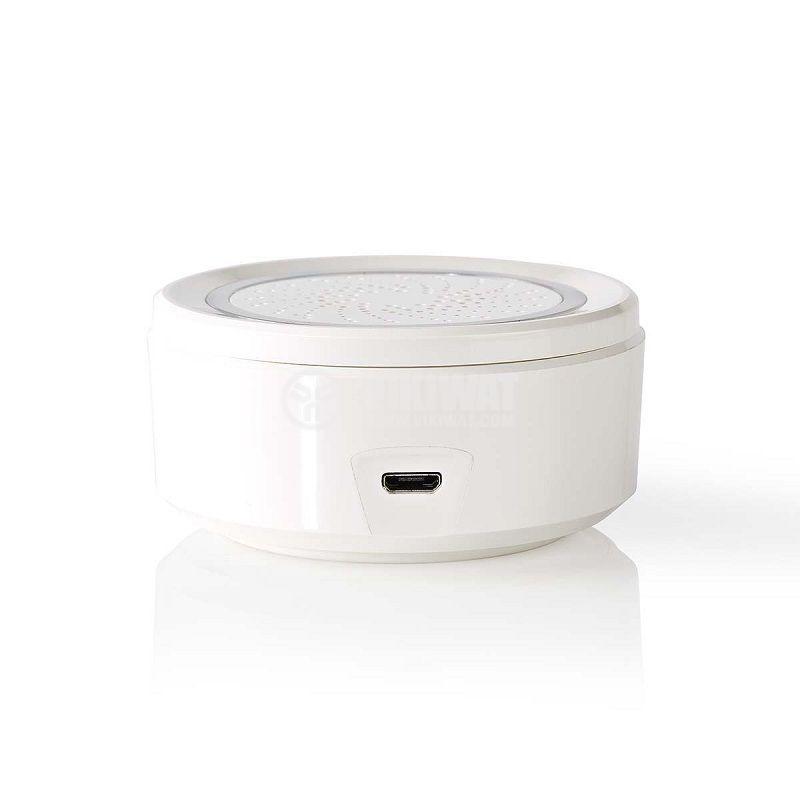 Wi-Fi smart сирена, WIFISI10CWT, 85dB, 5VDC - 3