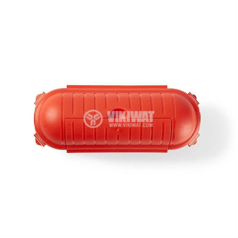 Кутия за предпазване на съединения, оранжева, IP44, PEBX01OG - 5