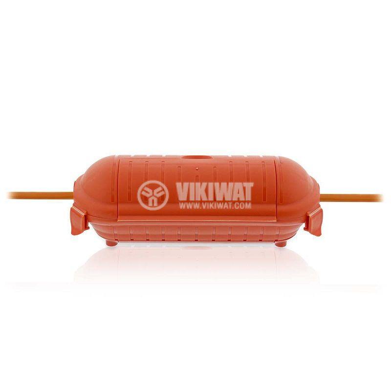 Кутия за предпазване на съединения, оранжева, IP44, PEBX01OG - 7