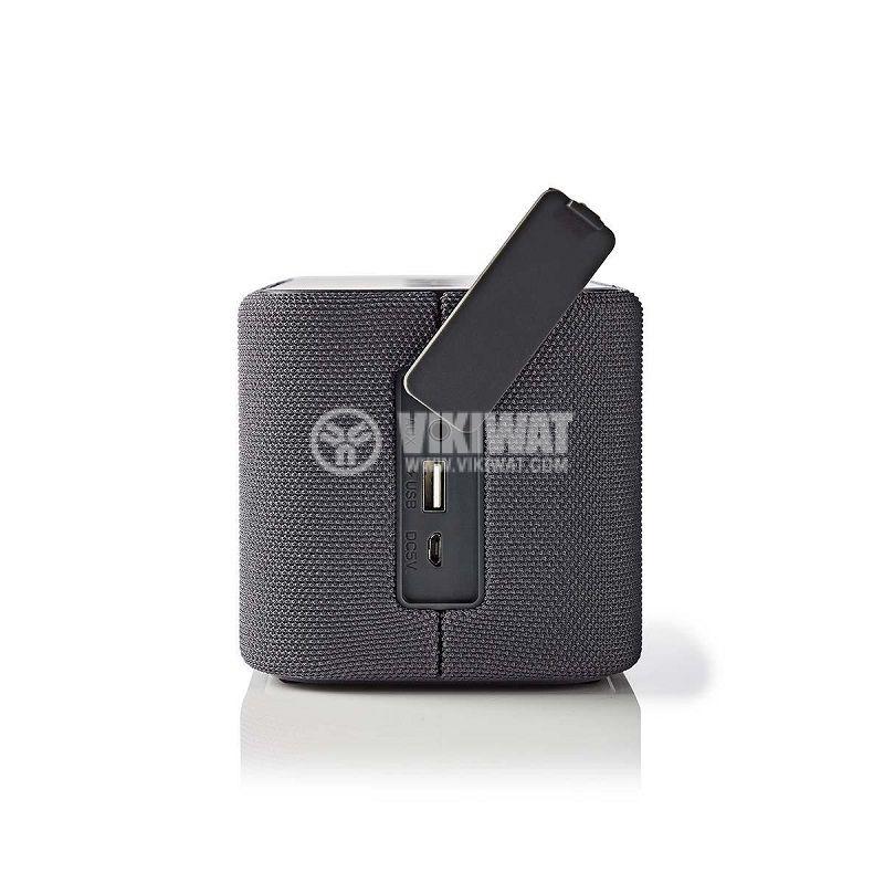 Водоустойчива Bluetooth тонколона, SPBT2003GY, портативна - 3