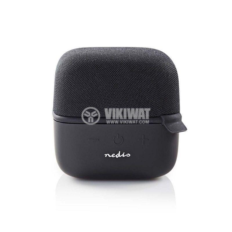 Bluetooth тонколона NEDIS, SPBT1000BK, портативна, 5W, 800mAh - 4
