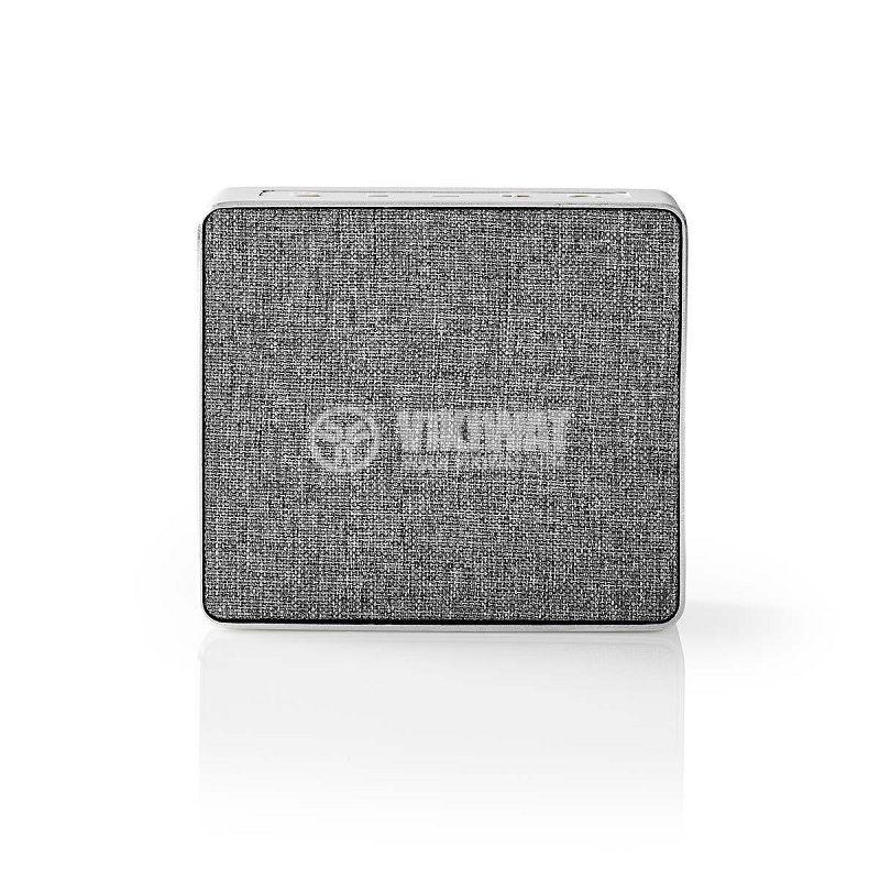Bluetooth тонколона NEDIS, SPBT1002AL, портативна, 5W, 800mAh - 4