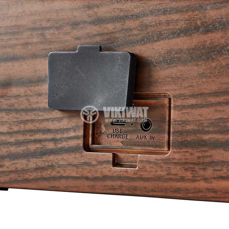 Водоустойчива Bluetooth тонколона NEDIS, SPBT35101BN, портативна - 2