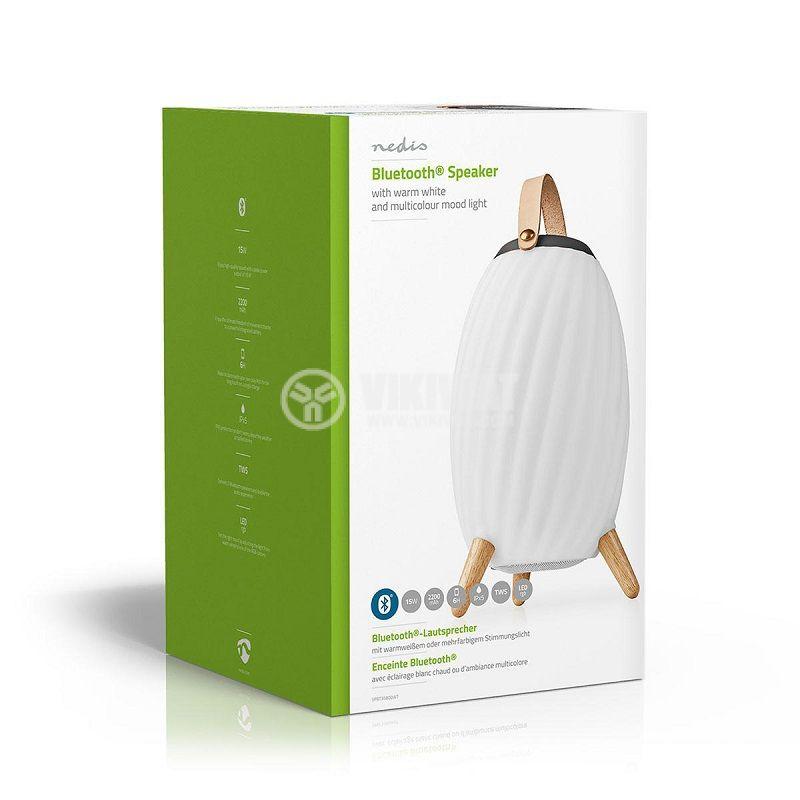 Bluetooth Speaker NEDIS, SPBT35805WT - 5