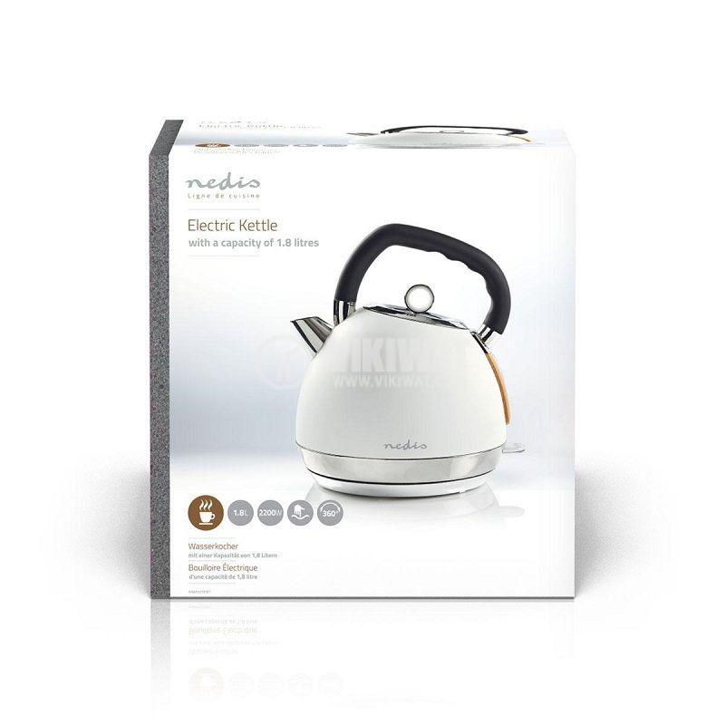 Електрическа кана тип чайник NEDIS KAWK520EWT - 6