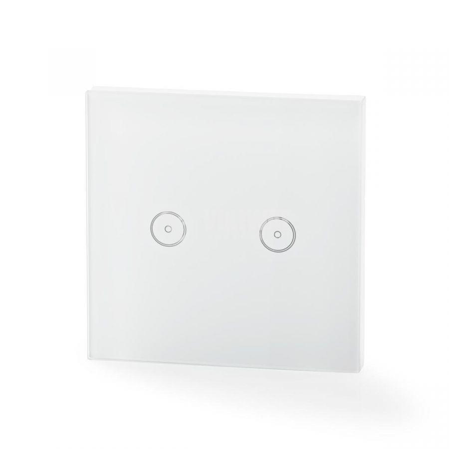 Двоен умен ключ за контрол на осветление сх.5  2A 230V бял - 3