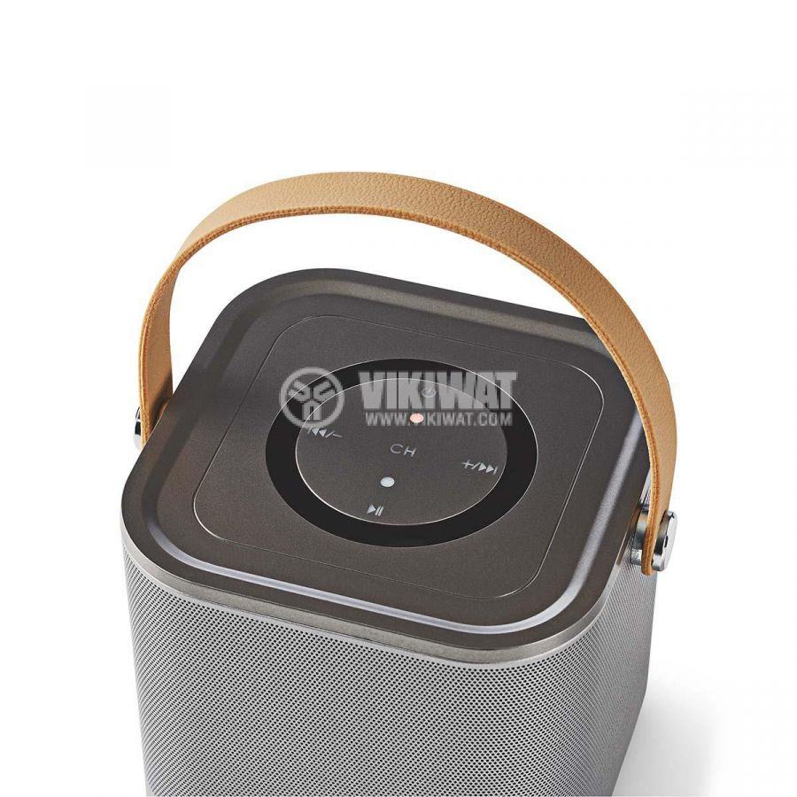 Wi-Fi тонколона SPWI5520GY 10W 1800mAh 3.5mm USB - 6