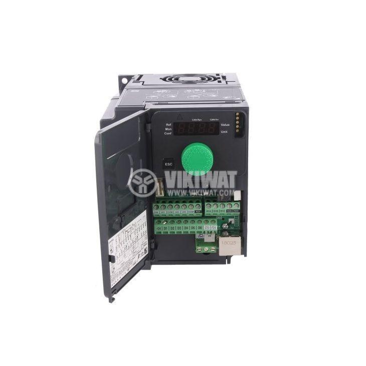 Честотен инвертор 0.55kW, 380~500VAC, 400VAC, ATV320U06N4C - 2
