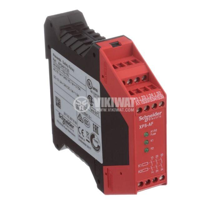 Модул за безопасност 8P, XPSAF5130, 24VDC, 24VAC