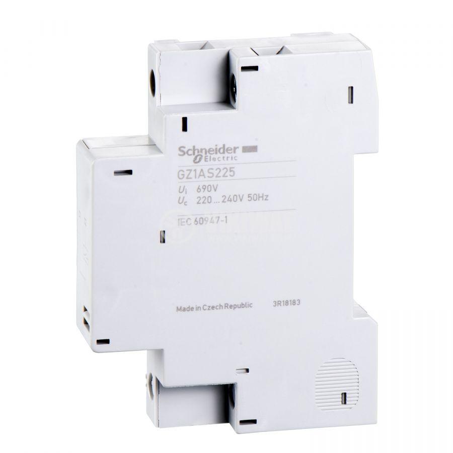 Напреженов изключвател GZ1AS225 страничен 220~240VAC 690VAC