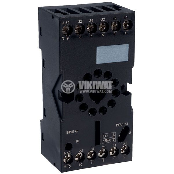 Relay socket RUZC3M 11pin 10A/250V
