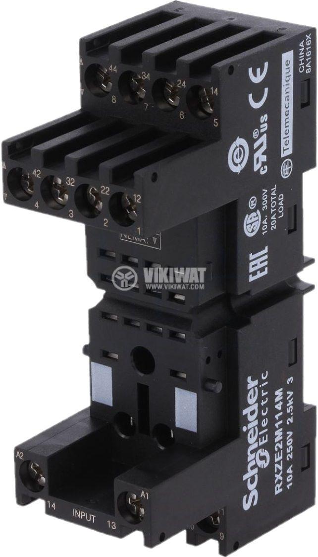 Цокъл за реле RXZE2M114M 14pin 10A/250V - 1
