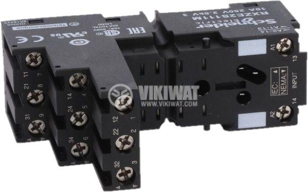 Основа за реле RXZE2S111M 11pin 10A/250V - 2
