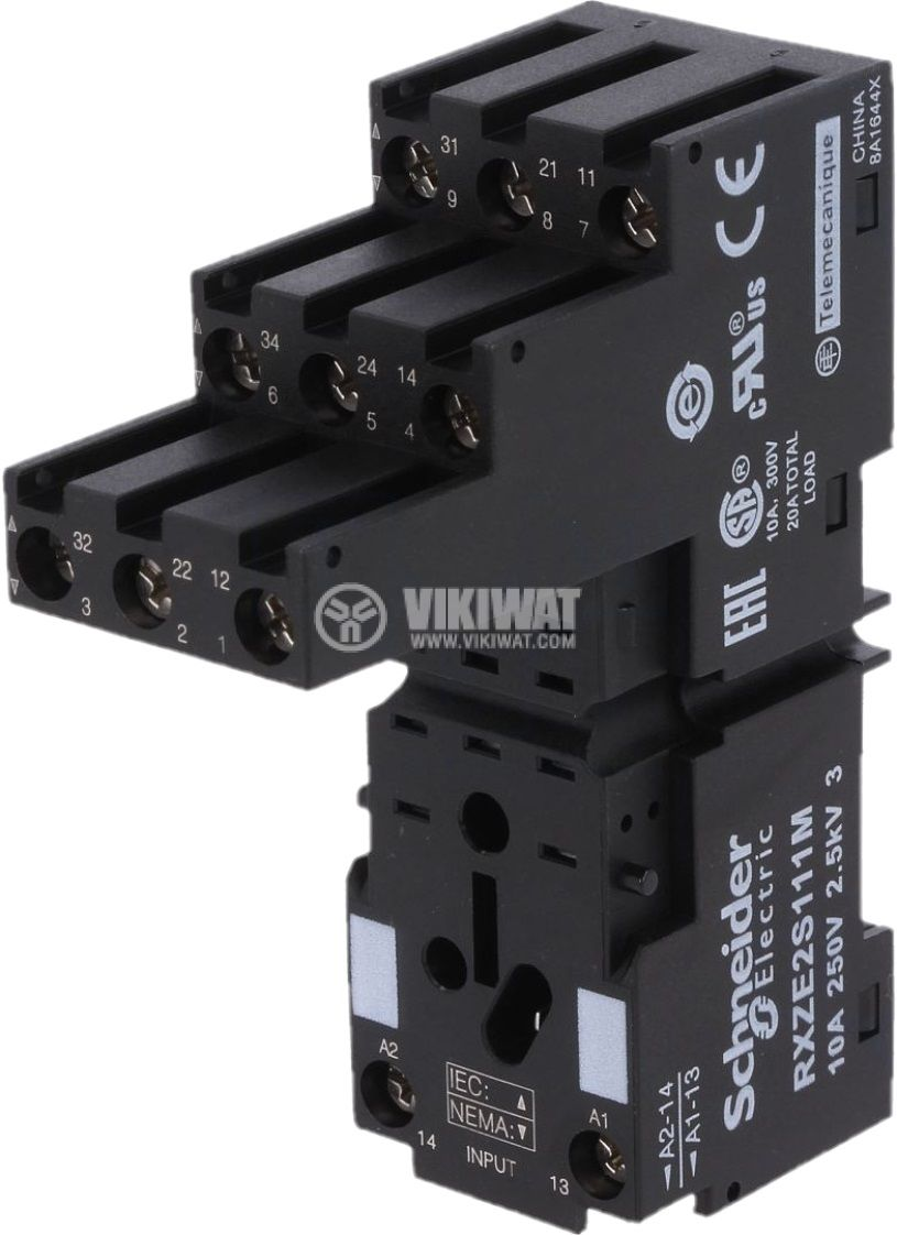 Цокъл за реле RXZE2S111M 11pin 10A/250V - 1