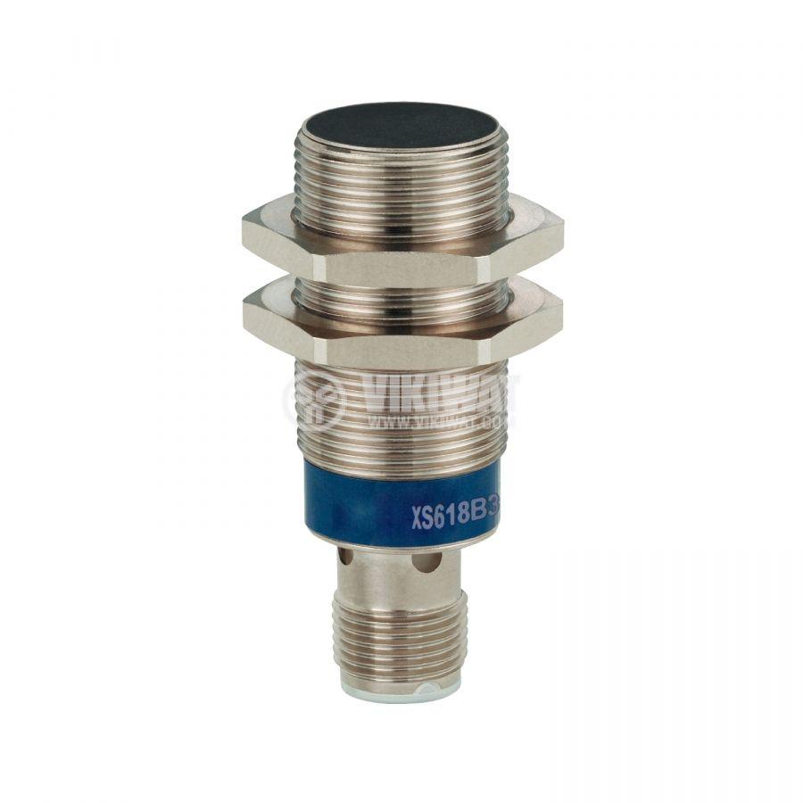 Индуктивен датчик XS108B3PAM12 10~36V PNP NO 0~2mm екраниран