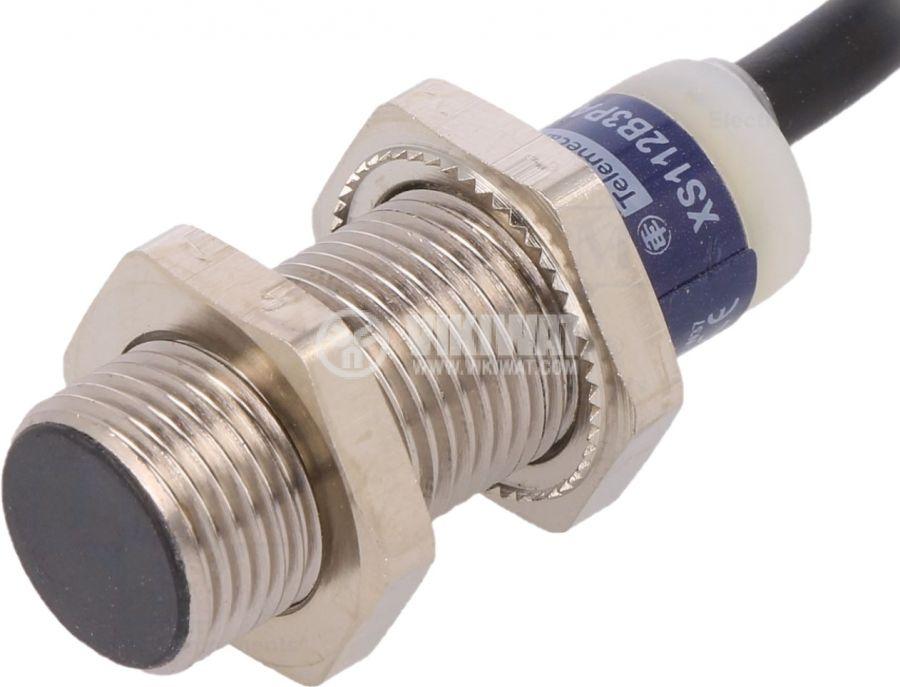 Индуктивен датчик XS112B3PAL2 10~36V PNP NO 0~4mm екраниран