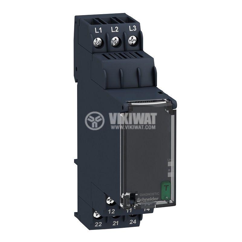 Контролно реле за напрежение, RM22TG20, 183~528VAC, IP40, DIN