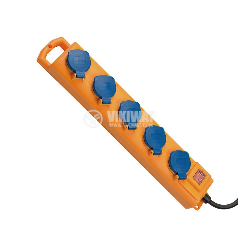Outdoor waterproof power strip