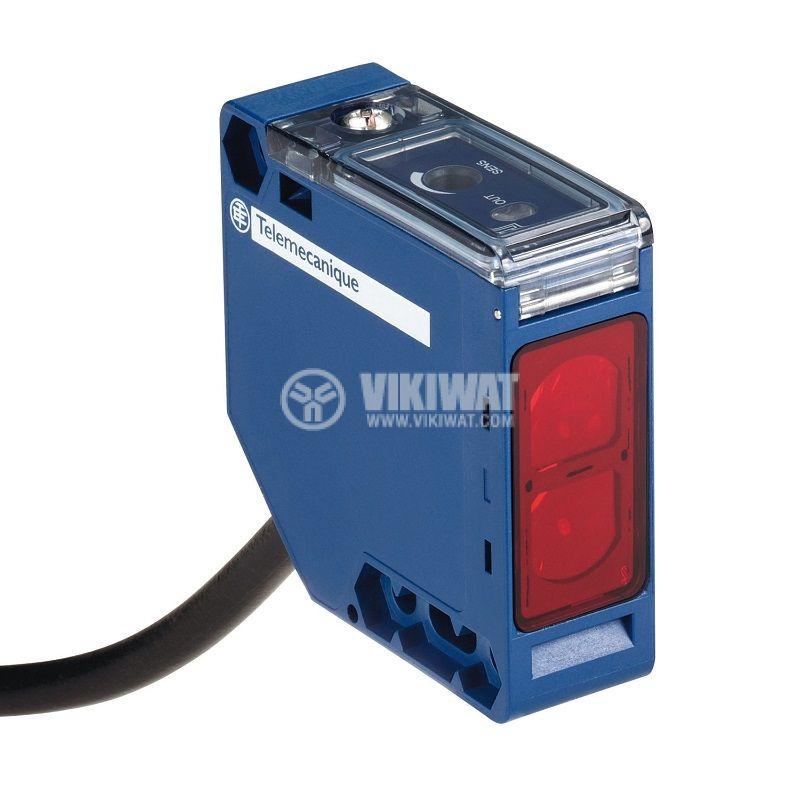Оптичен датчик XUK0ARCTL2, 20~264VAC/VDC, отражателен, 50x50x18mm, NO или NC, 0~30000mm