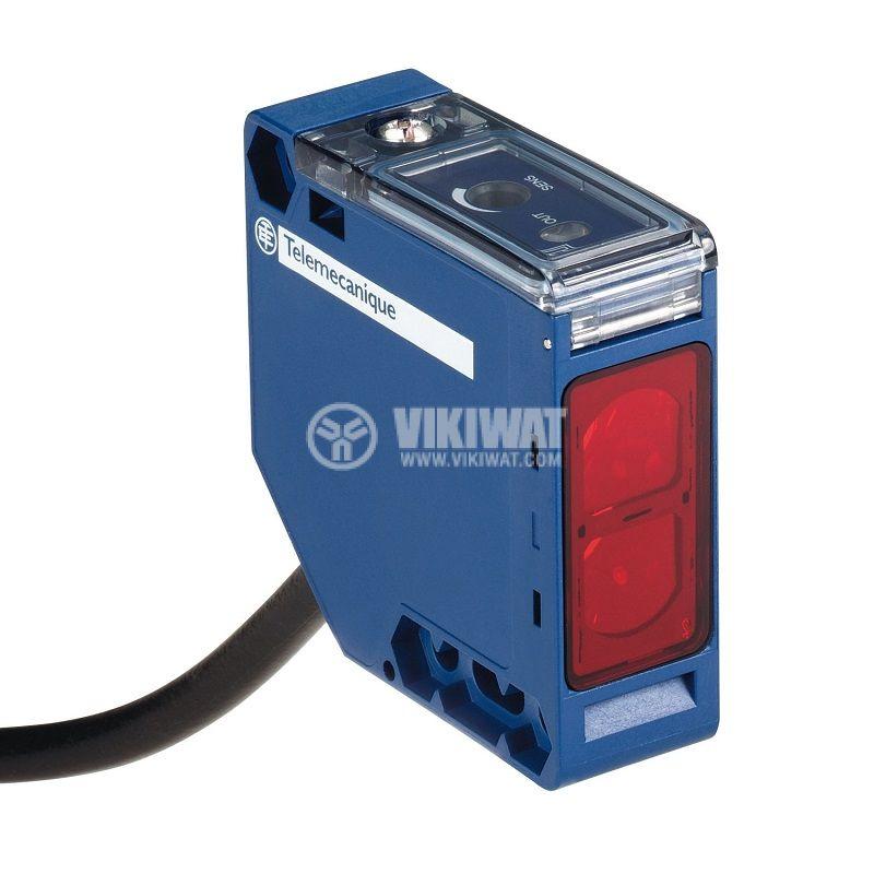 Оптичен датчик XUK1ARCNL2, 20~264VAC/VDC, отражателен, 50x50x18mm, без преход, 0~7000mm