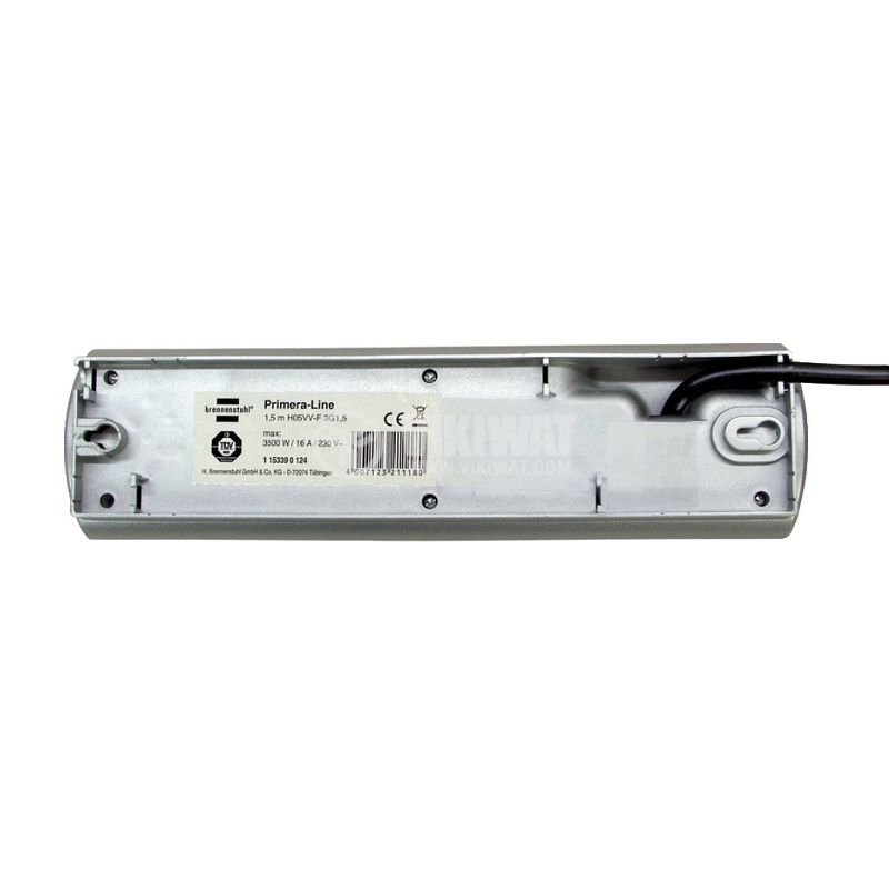 Разклонител 10-ка + 2 ключа, 2m кабел, 1153390120 - 4
