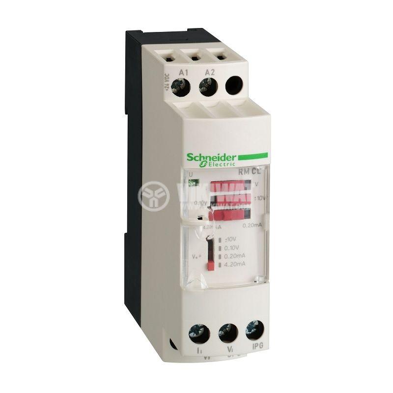 Преобразувател на напрежение и ток RMCL55BD DIN 24V 0-10V 0-20mA