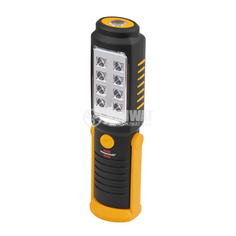 Универсална LED работна лампа/фенер 8 + 1 LEDs, 250lm, 6500K, студено бяла, HL DB 81 M1H1, Brennenstuhl, 1175410010 - 1