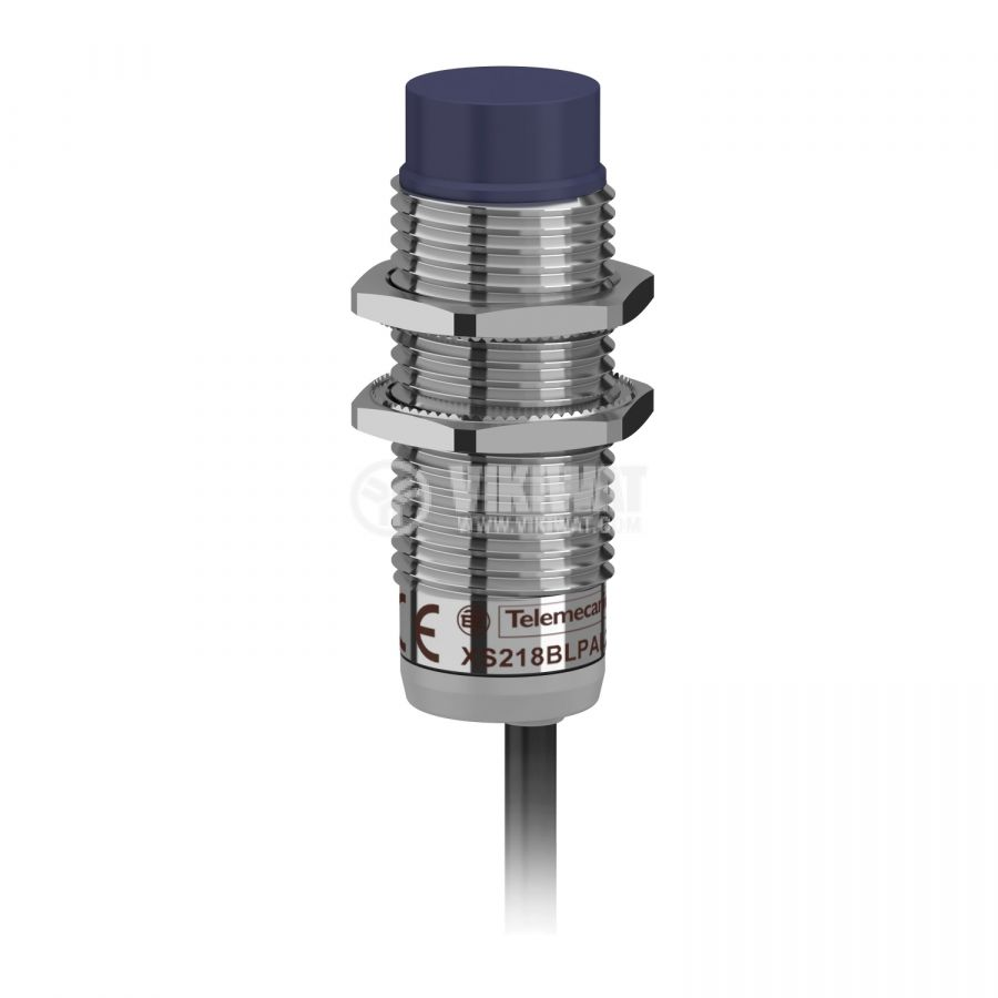 Индуктивен датчик XS218BLPAL2 10~36V PNP NO 0~8mm неекраниран