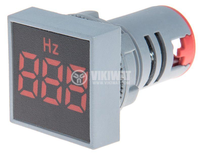 Дигитален честотомер 33~99Hz, 180~240VAC, EL-ED16S - 2