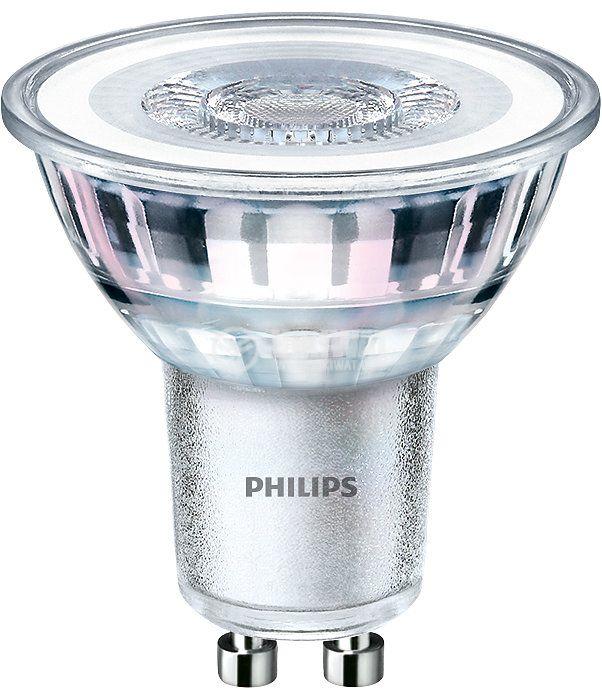 LED лампа 4.6W GU10 220V 370lm 3000K топло бяла - 1