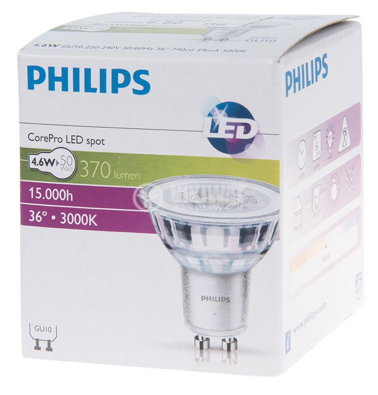 LED GU10 Philips - 5