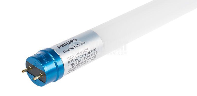 Едностранна LED пура T8 1200мм 14.5W студена светлина G13, Philips Core Pro - 1