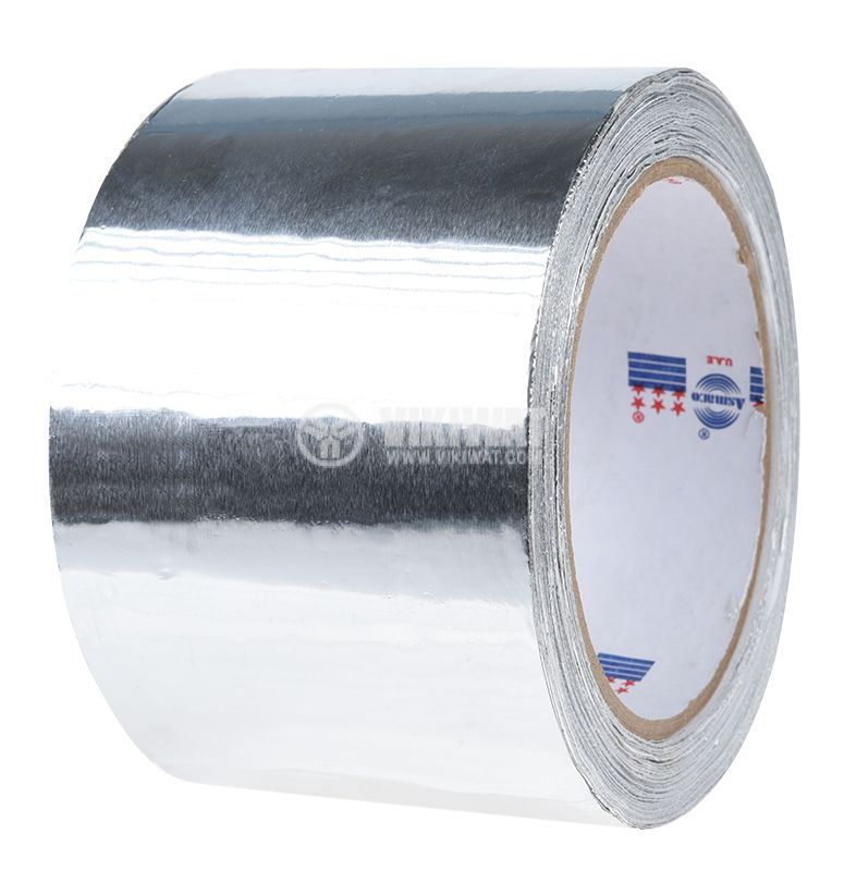 Aluminium insulation tape band Al72x25 72mm x 25m