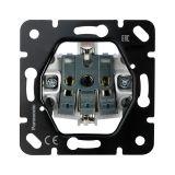 Mechanism for socket 2P+ E, 10A, 250VAC, Thea Blu, Panasonic, WBTM0312-5NC