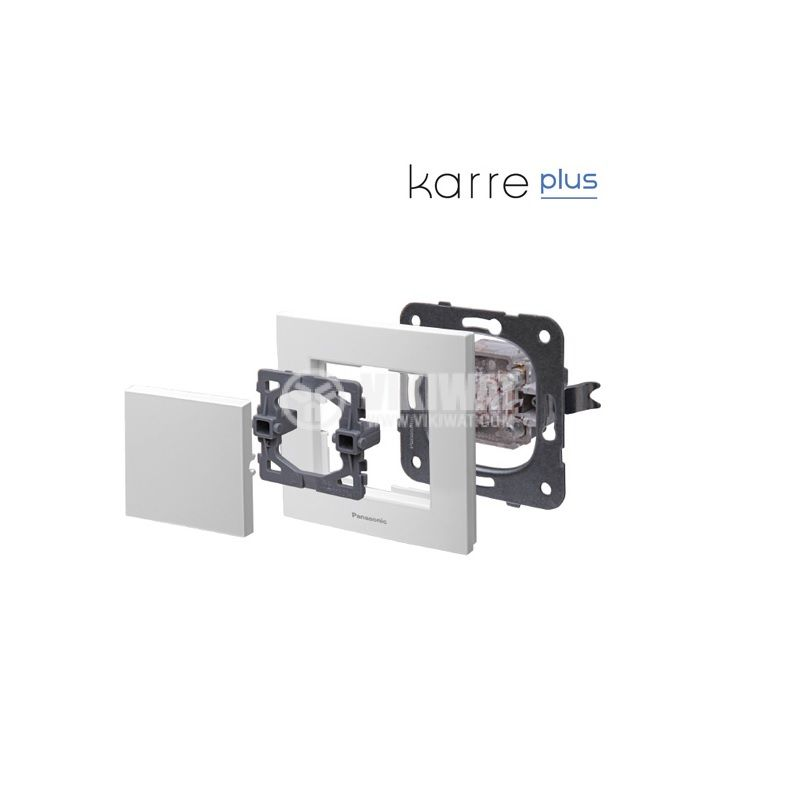 Стъклена рамка 81x83 светлозелена Karre Plus WKTF0801-3GG - 2